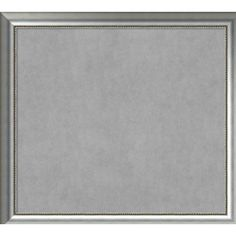 "House of Hampton Framed Magnetic Memo Board Size: 37"" H x 41"" W x 1.5"" D"