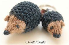 Les tuto des hérissons de We Bloom Here VF, at last!!!! | Clairette Tricote, (et autres petites choses avec ses 10 doigts)!