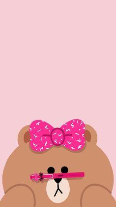 Choco Lines Wallpaper, Brown Wallpaper, Bear Wallpaper, Kawaii Wallpaper, Wallpaper Iphone Cute, Wallpaper Backgrounds, Friends Wallpaper, Couple Wallpaper, Cute Walpaper