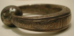 Bracelet Date: 12th century Geography: Iran Culture: Islamic Medium: Silver