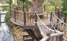 Tree deck