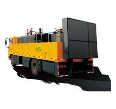 Convenient and efficient asphalt pavement integrated maintenance vehicles,Convenient and efficient pavement integrated maintenance car