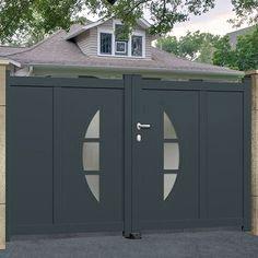 Modele Porte Garage Fer Forge Recherche Google House Gate Design Gate Design Steel Gate Design