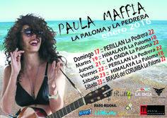 PAULA MAFFÍA de Argentina se presenta en LA PALOMA y LA PEDRERA :: TOUR enero 2016   cooltivarte.com