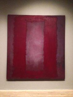 Red on Maroon, Rothko