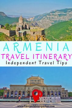 Planning a trip to Armenia? Read our itinerary for some travel inspiration!All the best places to visit in Armenia including how to get there and things to see for your perfect trip to Armenia. #Armenia #Caucasus #Yerevan #Nature #hiking #Armeniaitinerary #travel #travelitinerary #Tatev #Artsakh #Karabakh #monastery