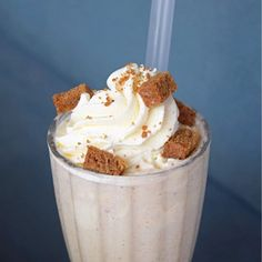 meet @sunniescafe's first ever seasonal beverage: the Gingerbread Milkshake. It's inspired by all things Christmas to get you in the frolicking mood