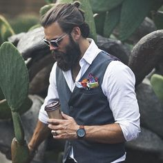 beards carefully curated — Timothy