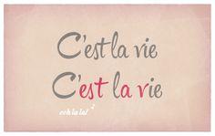 C'est la vie! Are you kerned on? Find Hipster Script Pro on #FontShop! #fonts #typography