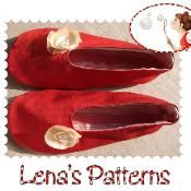 WOman's Ballerina shoes pattern - via @Craftsy