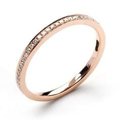 Rose Gold eternity ring from Annouska