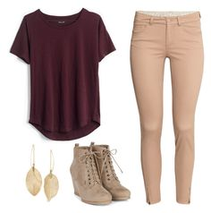 """""""untitled #7"""" by daniella0522 on Polyvore featuring H&M, Madewell and Lulu*s"""