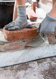 Muuraa tyylikäs tiililava   Meillä kotona Leg Warmers, Stone, Fashion, Lawn And Garden, Architecture, Leg Warmers Outfit, Moda, Rock, Fashion Styles
