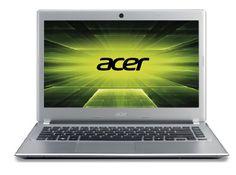Acer Aspire V5-471-323b6G50Mass (14 inch) Notebook PC Core i3 (2365M) 1.4GHz 6GB 500GB DVD-SuperMulti DL WLAN BT Webcam Windows 8 64-bit (Intel Graphics) Silver