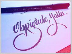 Caligraphy by Edu de Oliveira