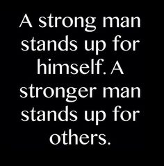 Be a strong