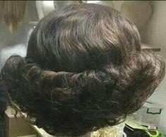 Casual Hairstyles, Retro Hairstyles, Everyday Hairstyles, Black Women Hairstyles, Girl Hairstyles, Hairstyle Ideas, Teased Hair, Bouffant Hair, 1960s Hair