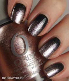 Nail Art: Going Baroque #thedailyvarnish #orly