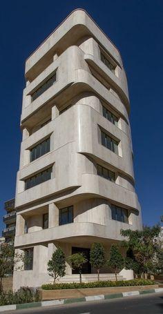 Niyayesh Office Building | Behzad Atabaki Studio; Photo: Parham Taghioff, Behzad Atabaki | Archinect