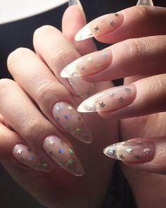 Звезды для звезды #naildesign #nailart #firenails #shebbychic #newnails #маникюркиев #ногтикиев #наращиваниеногтейкиев #наращиваниеногтей #коррекцияногтейкиев #beyliz_marianna #beylizbeautylab #naildesign #nailart Star Nails, Star Nail Art, Perfect Nails, Fun Nails, How To Do Nails, Pretty Nails, Acrylic Nails, Coffin Nails, French Stiletto Nails