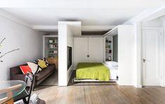 Diseño de apartamento paredes móviles