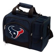 Picnic-Time-Houston-Texans-Malibu-Insulated-Picnic-Pack-Travel-Cooler-NEW