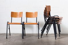 Friso Kramer Style Stacking School Chair