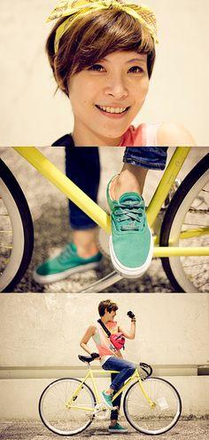 Cute bicycle portrait (ETTA by 大大兒, via Flickr)