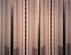 Hong Kong / Michael Wolf / i always think of slit scanning when i look at these photos