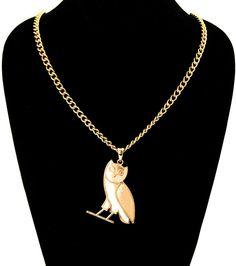 OVO Owl Necklace / PrissyBliss