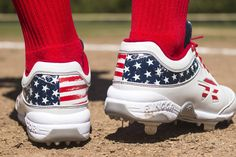 f2b80d7a2f4 Hit the field in good spirits with the American Spirit Cleats! Quantities  are limited