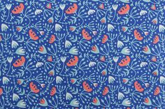 NEW Cotton Quilting Fabric Sewing Fabric Blue by #TheFabricScore www.thefabricscore.com