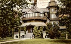 The Folley, home of the Samuel W. Allerton