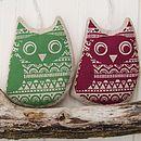 Owl Lavender Sachet