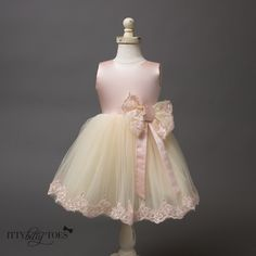 Laney Dress - Couture - Itty Bitty Toes