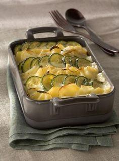Une recette au Morbier et aux courgettes, idéale pour vos repas d'hiver.