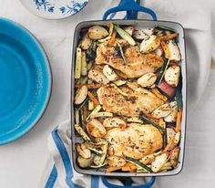 Rosemary Chicken (you can prepare this meal in advance!)