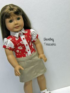 American Girl doll clothes 18 inch doll by Unendingtreasures, $10.00
