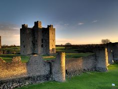 Trim Castle in County Meath, the largest Norman castle in Ireland