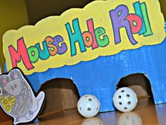 """DIY Carnival Party Games - Mamas Like Me Kim -- scroll down and see """"goldfish"""" toss!"""