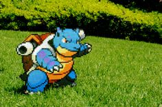 Perler Bead Blastoise - Pokemon