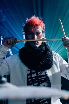 Josh Dun from twenty one pilots fairly local music video