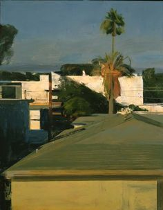 Not a huge fan of urban painting, but I do like this: Cityscape | Ben Aronson
