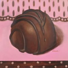 Sweets for Milady, painting by artist Carol Keene