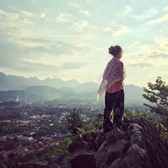 This amazing #gapsnap comes courtesy of @delichte, who's travelling around the world with his wife and daughters. This shot was taken from the top of Mount Phousi in Luang Prabang, Laos. Beautiful! #luangprabang #laos #mountain #mountains #asia #view #travel #traveling #travelling #travelgram #travelphotography #instatravel #instatraveling #gapyear #backpacking
