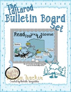 I have included a jam-packed, Iditarod-Themed Bulletin Board Set and activities. The file includes all of my own art work and resource l. Daily 5 Reading, 3rd Grade Reading, Reading Counts, School Stuff, Around The World Theme, Student Teaching, Teaching Ideas, School Projects