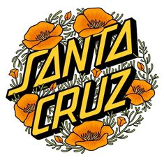 Designs for Santa Cruz Skateboards, 2011 Tumblr Stickers, Phone Stickers, Cute Stickers, Skateboard Logo, Skateboard Design, Longboard Design, Wallpaper California, Santa Cruz Stickers, Santa Cruz Logo