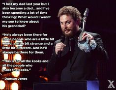 Duncan Jones on his father, David Bowie