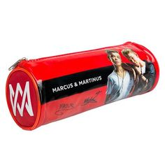 Marcus and Martinus pencil box. Although the school year has started, it is still possible to get the coolest M&M pencil case on the market! Buy MM pencil case now!