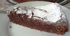Sladký dortík z čokolády a cukety, chuť je nepopsatelně skvělá